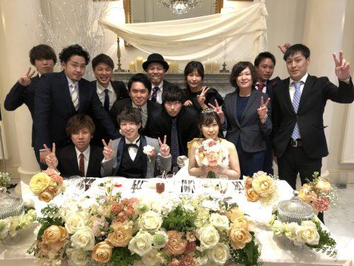友達 結婚 式