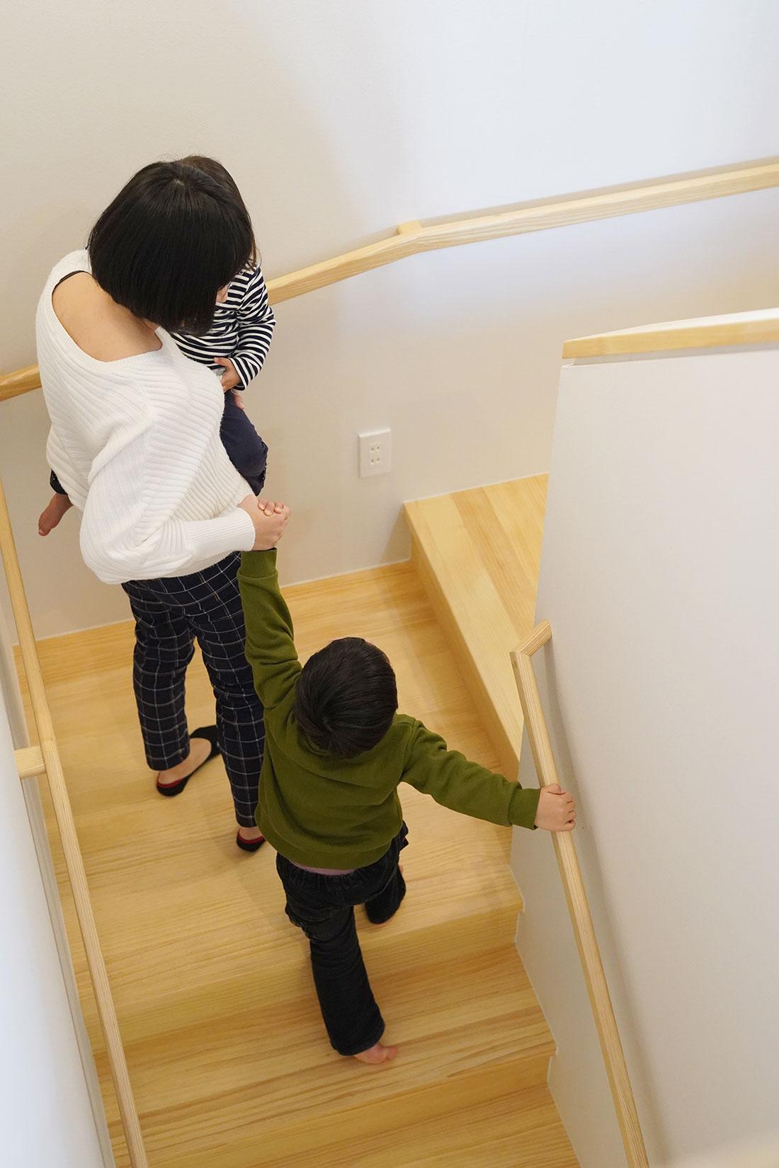 M様 階段踊り場