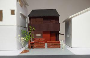 咲楽の家模型-300